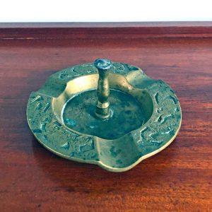 vintage Brass ring holder