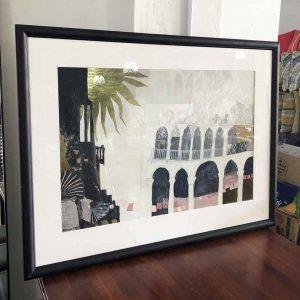 re-framed Rosina Wachtmeister print