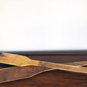 Wooden paddles second hand
