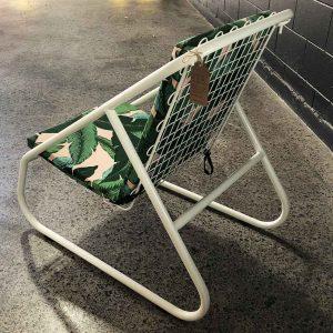 Vintage restored outdoor chair