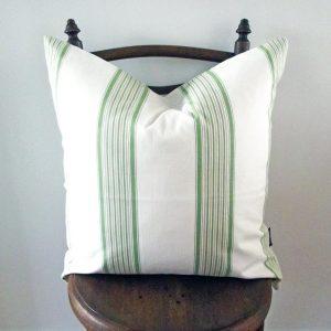 Charbury stripe cushion