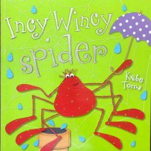 Incy wincy spider kids book