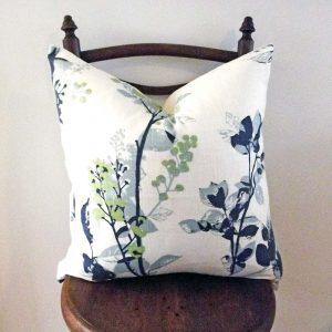 Elveden floral cushion