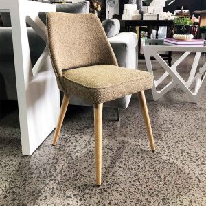up-cycled retro dining chair