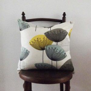 Sanderson dandelion cushion vintage