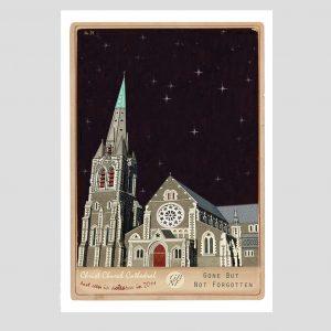 Marika Jones artist CHCH cathedral print