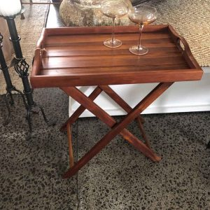 Secondhand butlers tray table