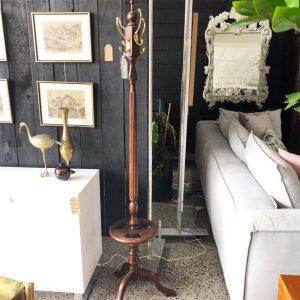 mahogany hat/coat stand