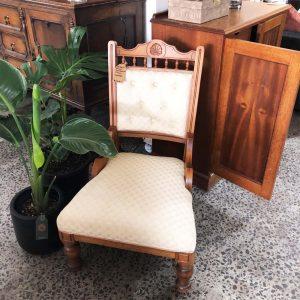 vintage kauri chair