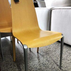 light beech dining chair EX MATISSE