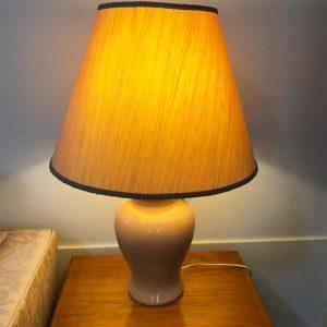 soft peach lamp