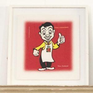 classic Mr For square man framed print