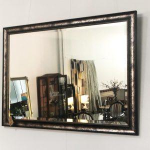 gold black mirror