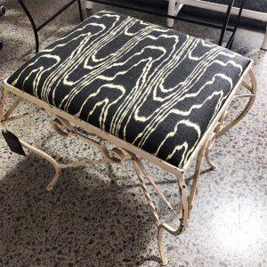 Kelly wearstler upcycled footstool