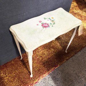 decoupage side table