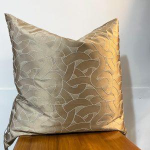 Misia circles silk cushion