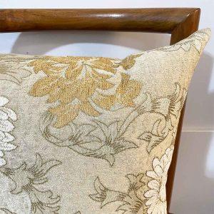 chrysanthemum moire cushion