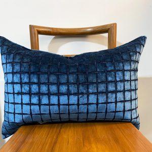 cobalt grid velvet lumber